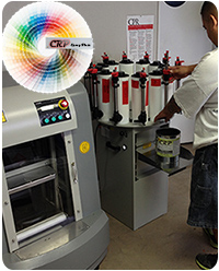 CRP tint machine